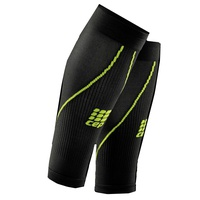 Компрессионные гетры CEP Calf Sleeves 2.0 WS550 Black/Green