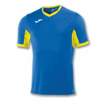 Футболка игровая Joma CAMISETA CHAMPION IV ROYAL-AMARILLO M/C