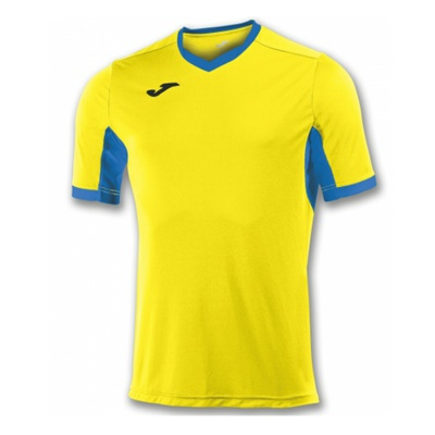 Футболка игровая Joma CAMISETA CHAMPION IV AMARILLO-ROYAL M/C