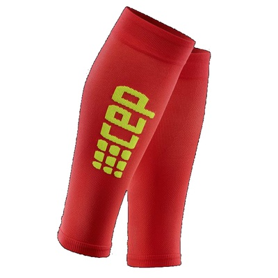Компрессионные гетры CEP Ultralight Calf Sleeves WS55D Red / Yellow
