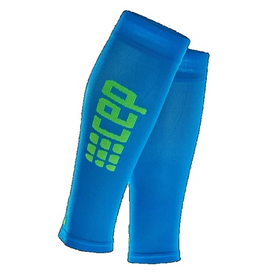 Компрессионные гетры CEP Ultralight Calf Sleeves WS55D Blue / Green