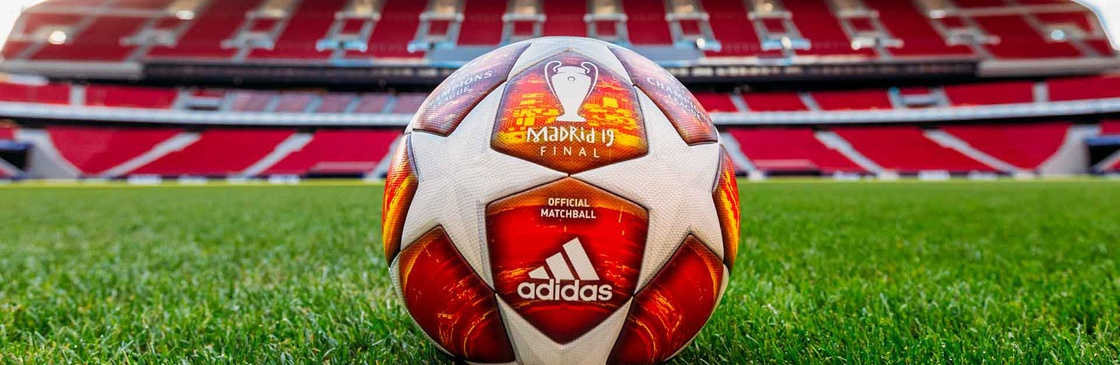 Official Match Ball of the 2019 UEFA Champions League Final Madrid