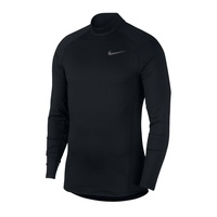Термокофта Nike Thrma top LS Mock 010